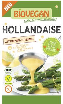 Molho holandês orgânico - sem glúten