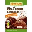 Sorvete de chocolate orgânico - sem glúten