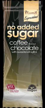 Chocolate sem açúcar com aroma de café 45g-sem glúten