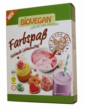 Corantes alimentares orgânicos