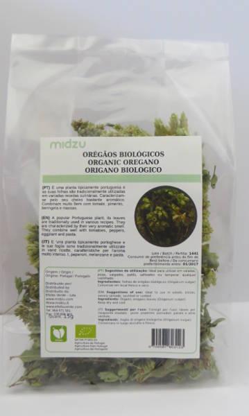 Orégano orgânico Midzu 15g