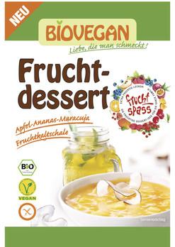 Sobremesa de Abacaxi-Maracujá - sem glúten