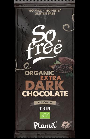 Chocolate Negro extra orgânico 80g - sem glúten