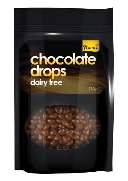 Pepitas de chocolate 175g - sem glúten