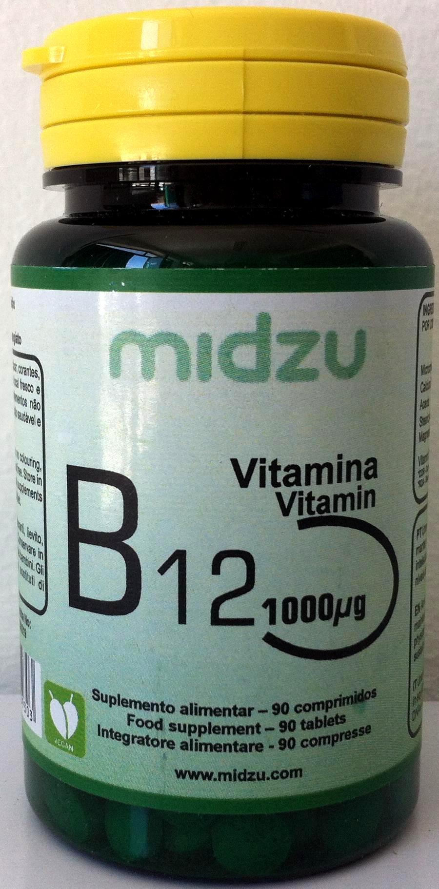 Vitamina B12 - 1000ug