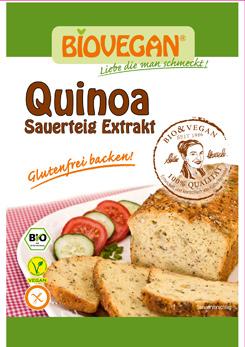 Extrato de fermento natural de quinoa orgânico - sem glúten