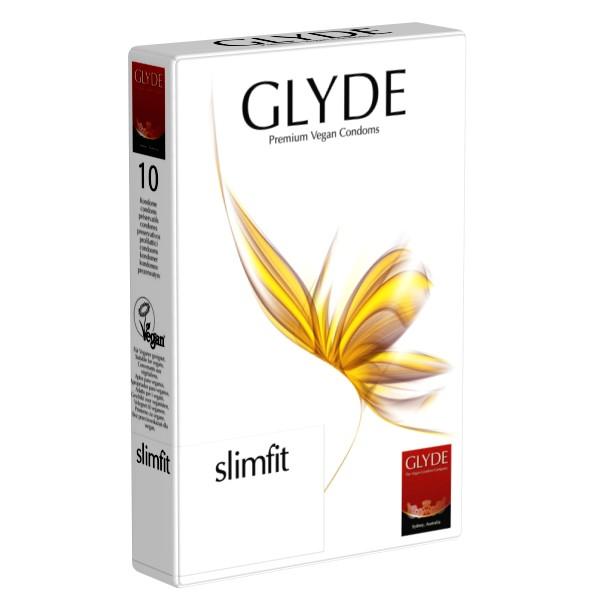 Preservativos Slim Fit Glyde (10 unid.)