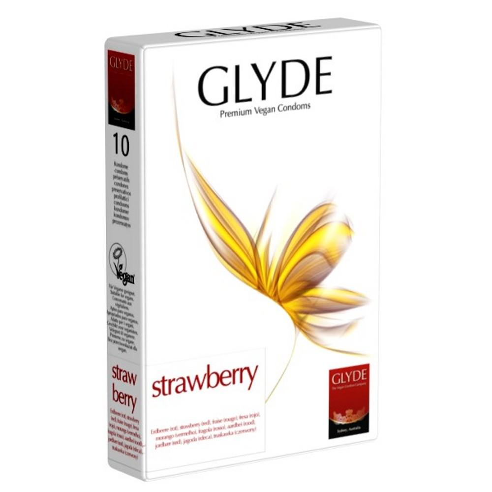 Preservativos morango Glyde (10 unid.)