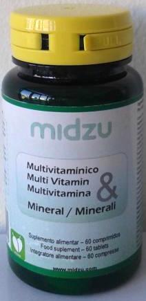 Multivitamínico e mineral